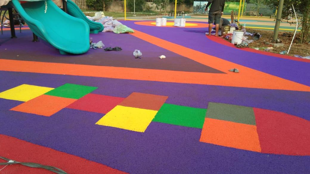 EPDM RUBBER GRANULES PLAYGROUNDS