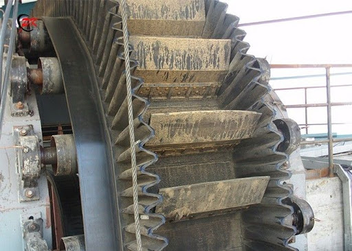 Corrugated Sidewall Belt Conveyors